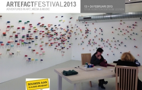 Opening ARTEFACT festival 2013:  A City Shaped